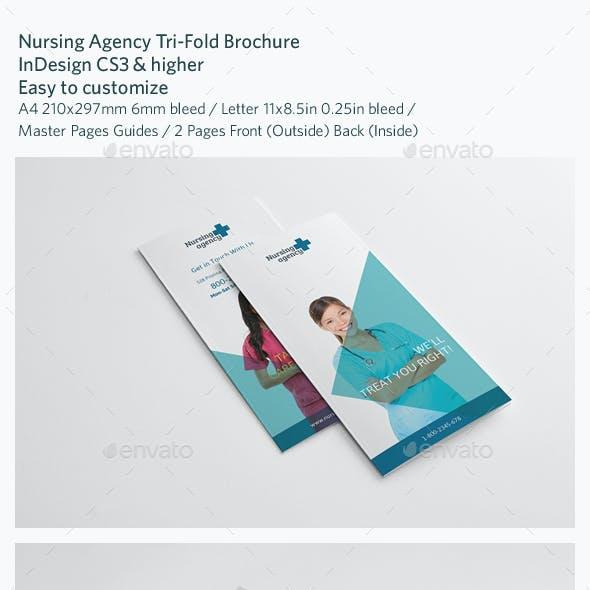 Nursing Agency Trifold Brochure