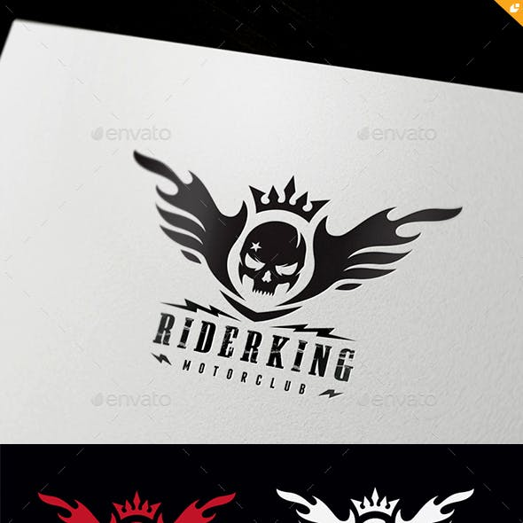 Motorcycle Club Logo Graphics Designs Templates
