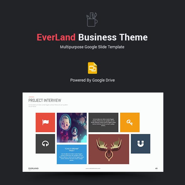 everland business google slide theme by simplesmart graphicriver