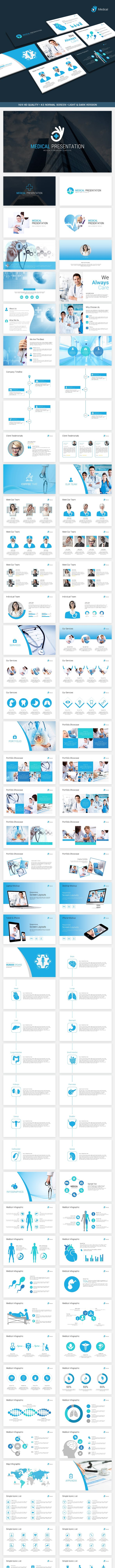 medical powerpoint template by pptx graphicriver