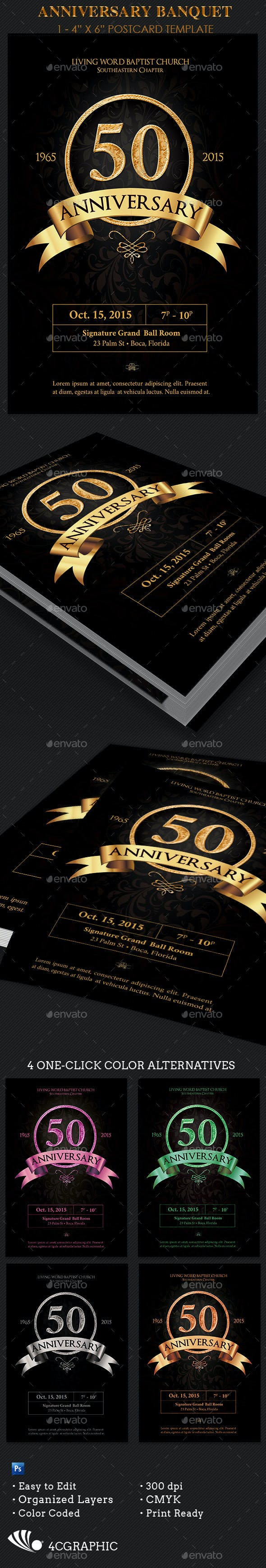 anniversary banquet flyer template by 4cgraphic graphicriver