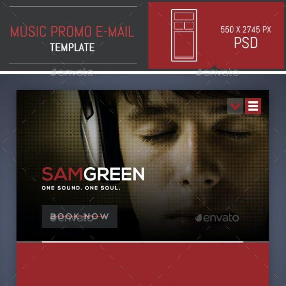 Dj Music Promo Psd E Mail Template By Dogmadesign Graphicriver