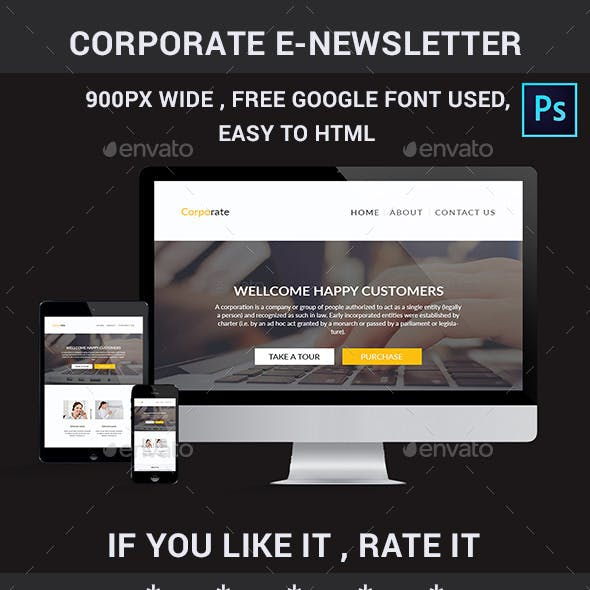 psd e newsletter templates from graphicriver page 7