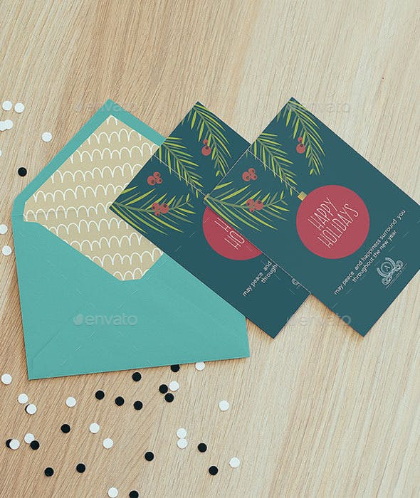 Happy Holidays Card For Business By Woowparty Graphicriver
