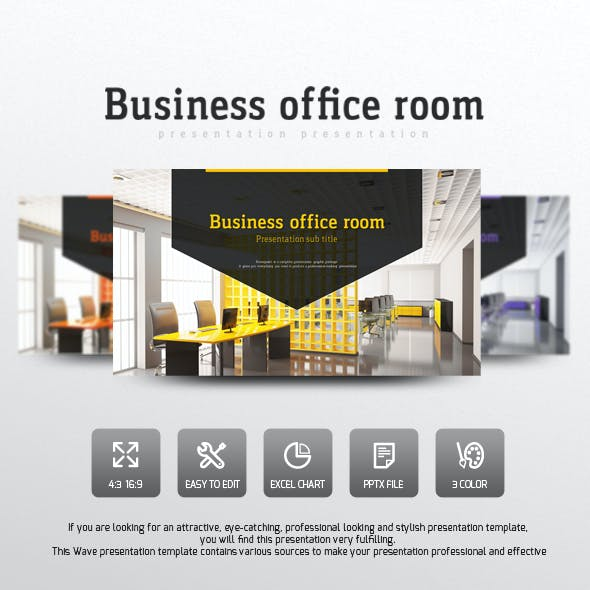 Corporate Office Presentation Templates From GraphicRiver