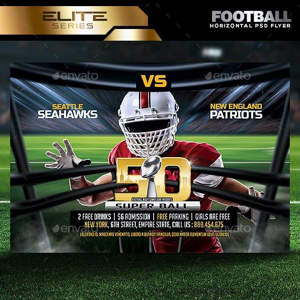 football flyer template graphics designs templates