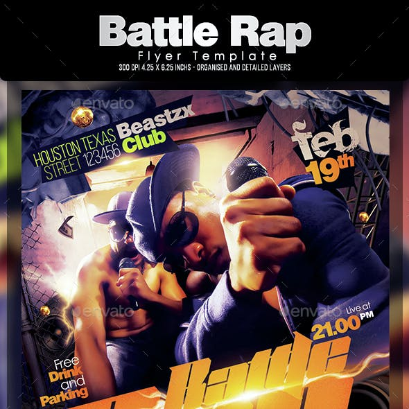 rap flyer graphics designs templates from graphicriver