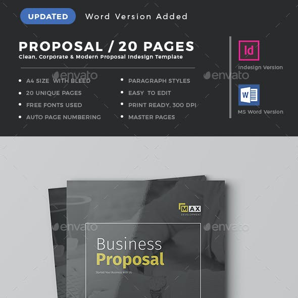 Indesign proposal graphics designs templates proposal template cheaphphosting Choice Image