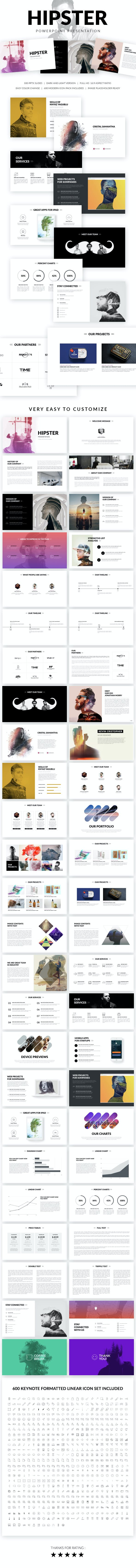 hipster powerpoint presentation template by knyazyaqublu graphicriver