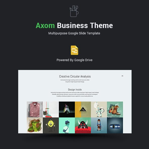 axom google slide theme by simplesmart graphicriver