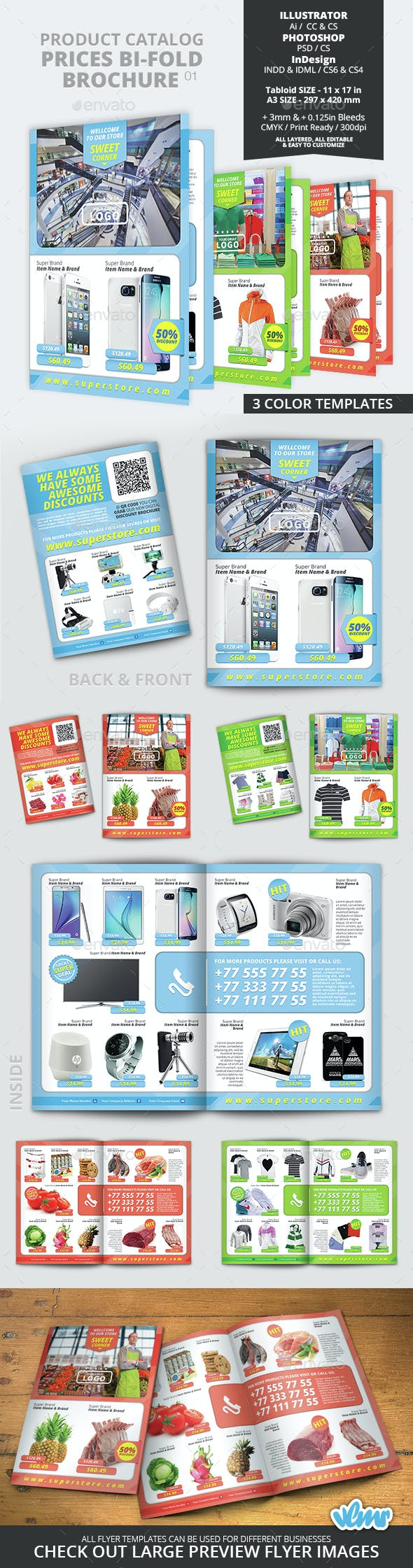 product catalog prices bi fold brochure 01 by vlmr graphicriver