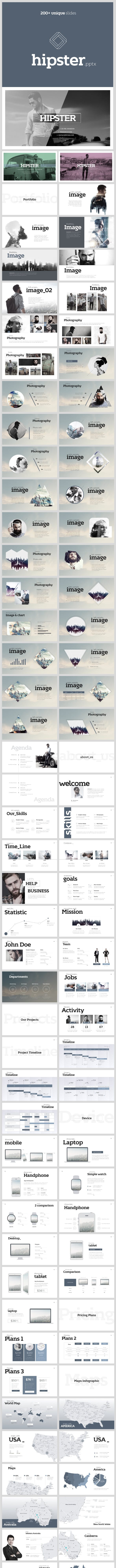 hipster powerpoint template v 22 by shafura graphicriver