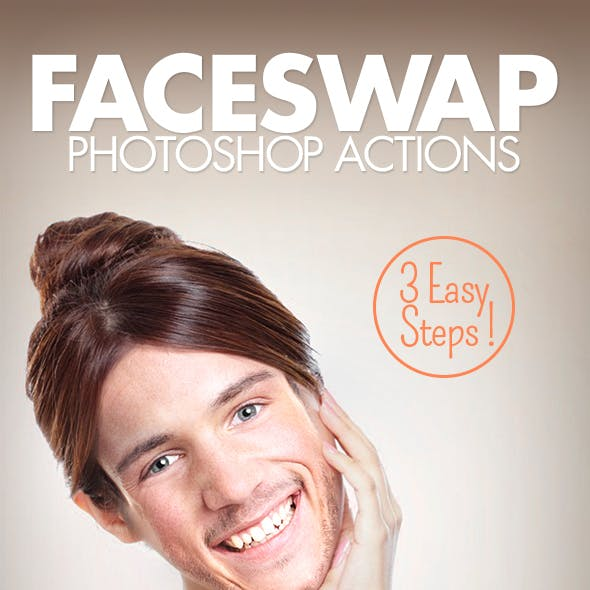 Face Swap - Photoshop Actions by BlackNull   GraphicRiver