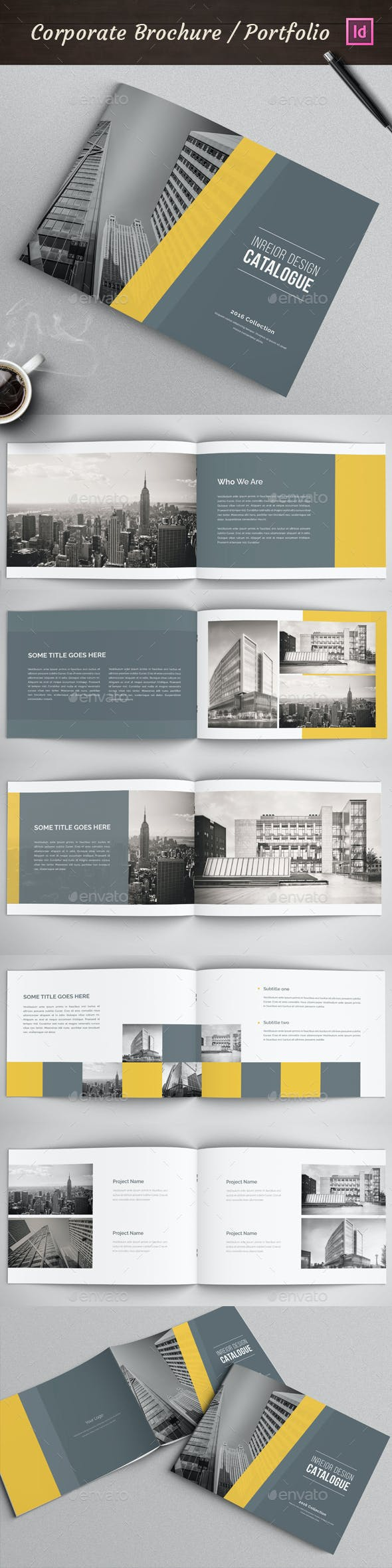modern architecture brochure by nody4design graphicriver