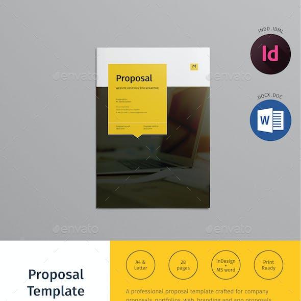 App Development Proposal Graphics Designs Template