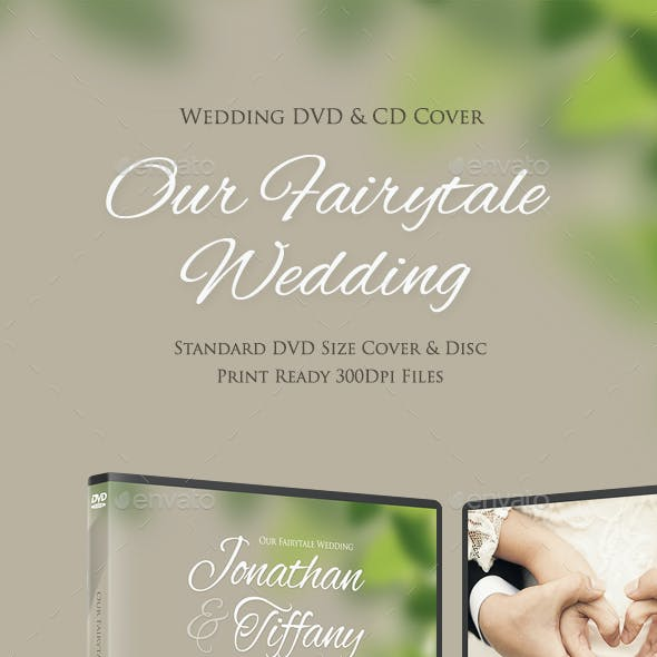 Fairytale Wedding DVD Disc Cover