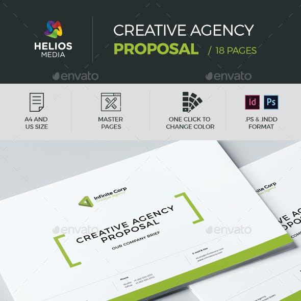 Agency Proposal Template Graphics Designs Templates