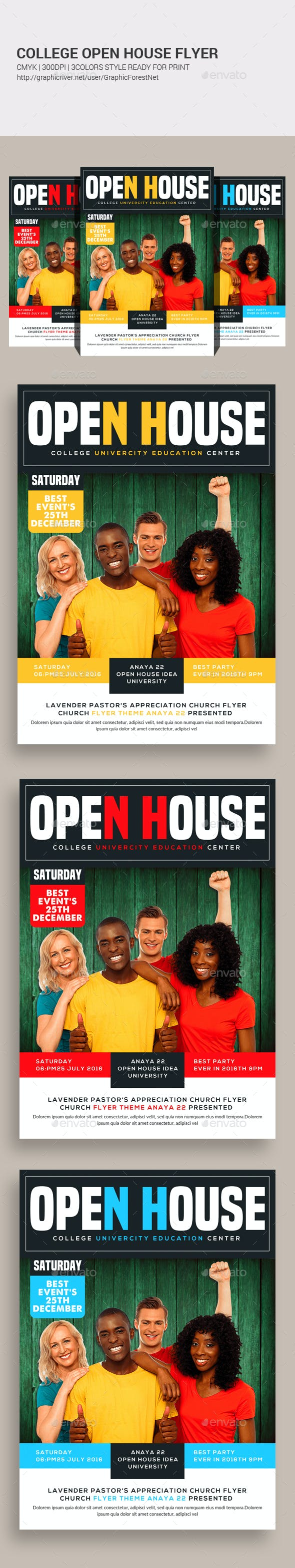 college fair flyer templates by graphicforestnet graphicriver