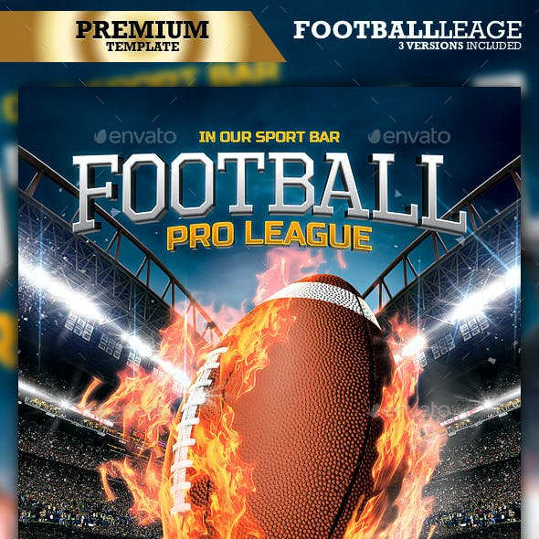 american football flyer graphics designs templates page 2