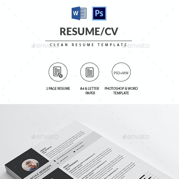 simple clean graphics designs templates from graphicriver