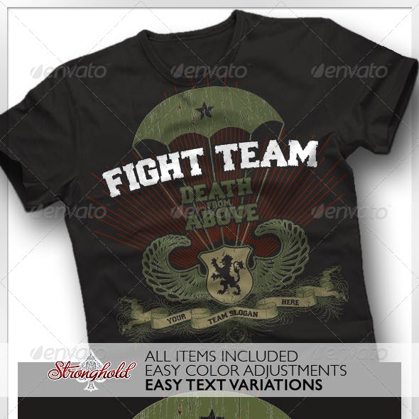 Military T Shirt Design | Air Military T Shirt Designs From Graphicriver