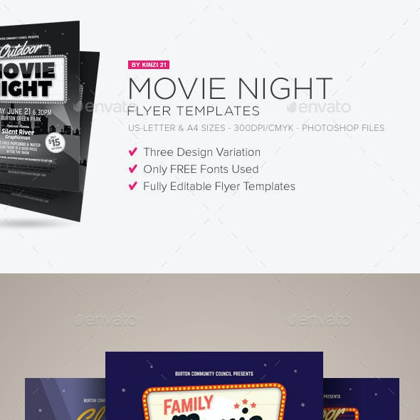 film set stationery and design templates from graphicriver
