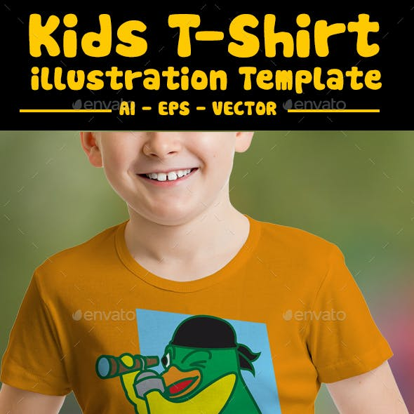 1ea341e02 Cute and Fun T-shirt Designs from GraphicRiver (Page 6)
