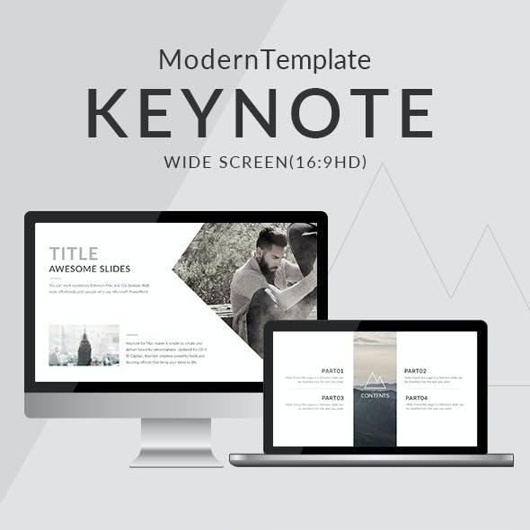 Modern Clean Trend Keynote Template