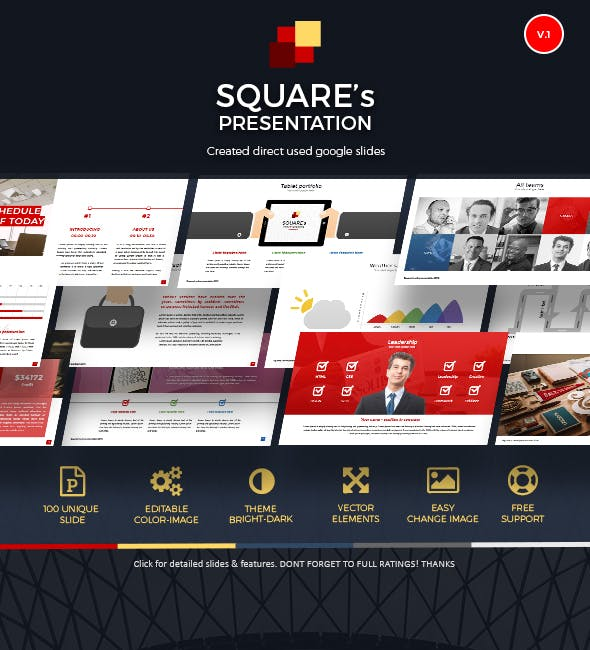 google slide online presentation template by rivatxfz graphicriver