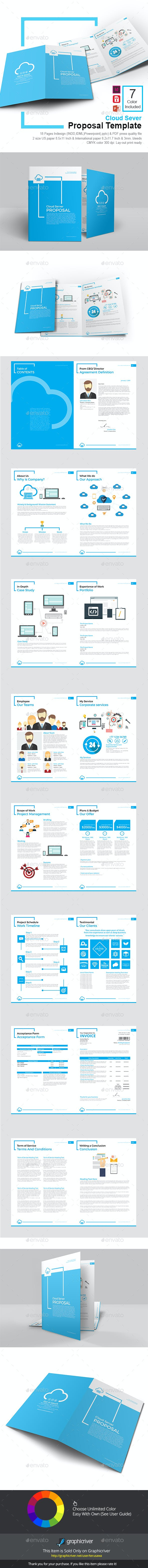Cloud Sever Proposal Template By Terusawa Graphicriver