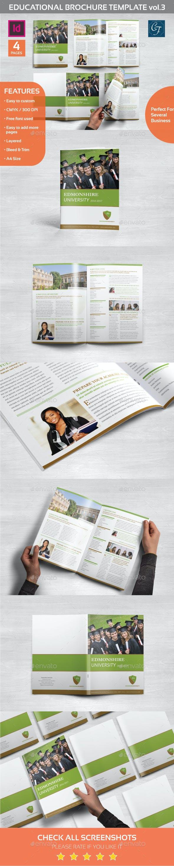 educational brochure template vol 3 by carlos fernando graphicriver