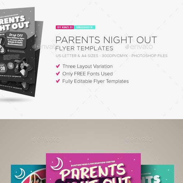 parent stationery and design templates from graphicriver