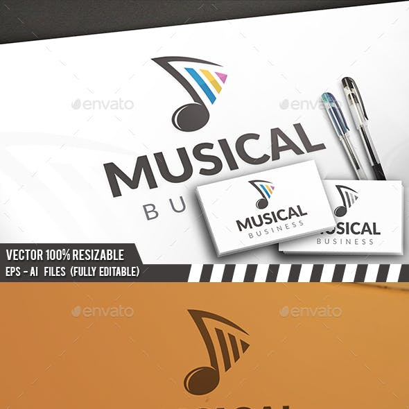 Audio Players Logo Templates from GraphicRiver