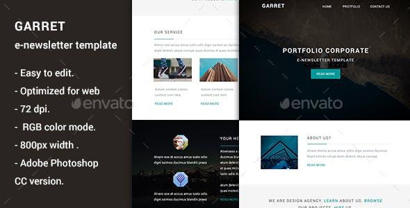 garret multipurpose e newsletter template by quickartisan