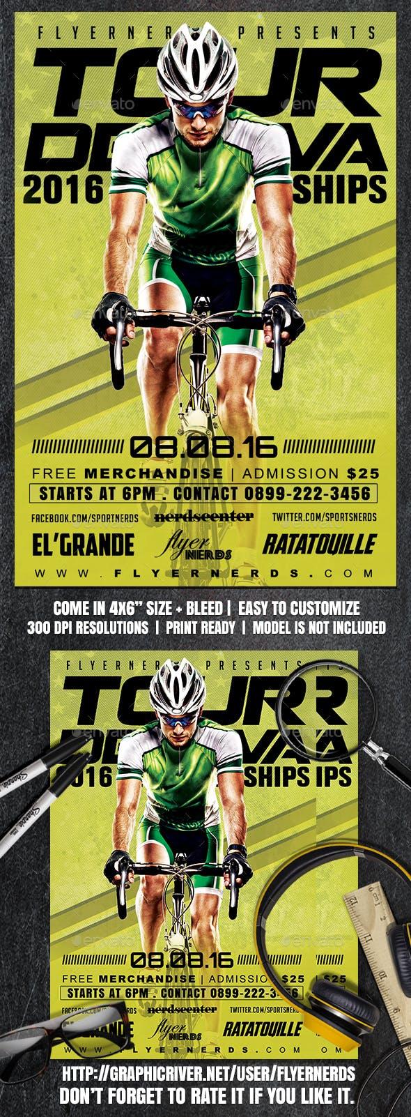 Tour De Java Sports Flyer By Flyernerds Graphicriver