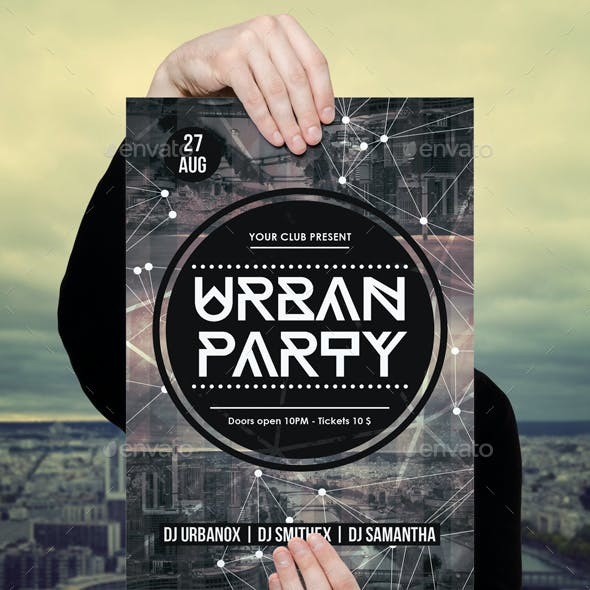 party poster template graphics designs templates