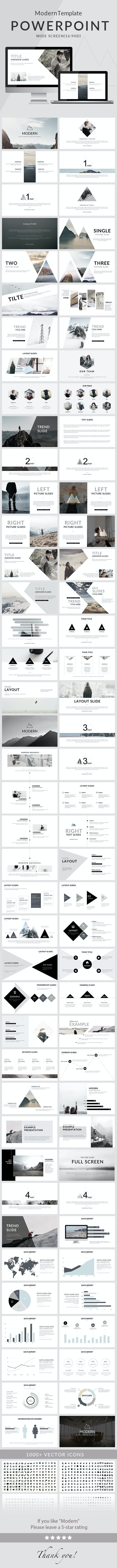 modern powerpoint template by 5yue graphicriver
