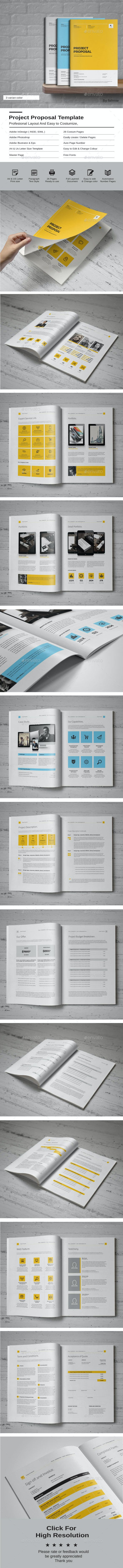 Proposal Template By Fahmie Graphicriver