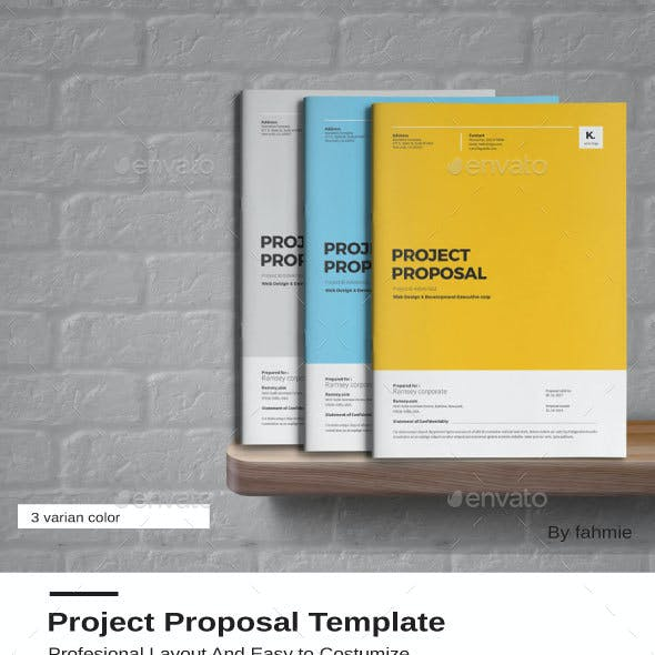 Proposal Illustrator Graphics Designs Template