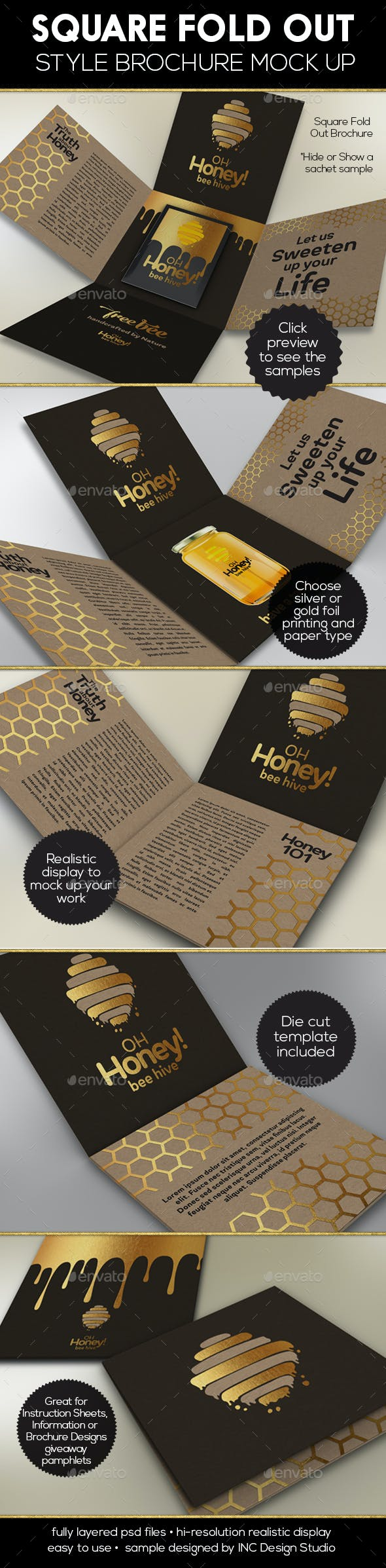 square fold out style brochure by ina717 graphicriver
