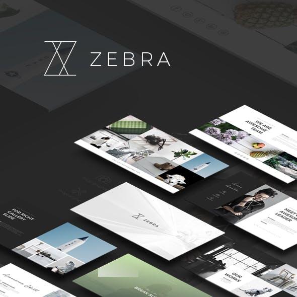 Handpicked presentation templates from graphicriver zebra powerpoint template toneelgroepblik Images
