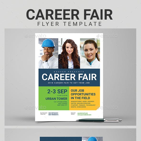 Career Flyer Templates From Graphicriver Page 3