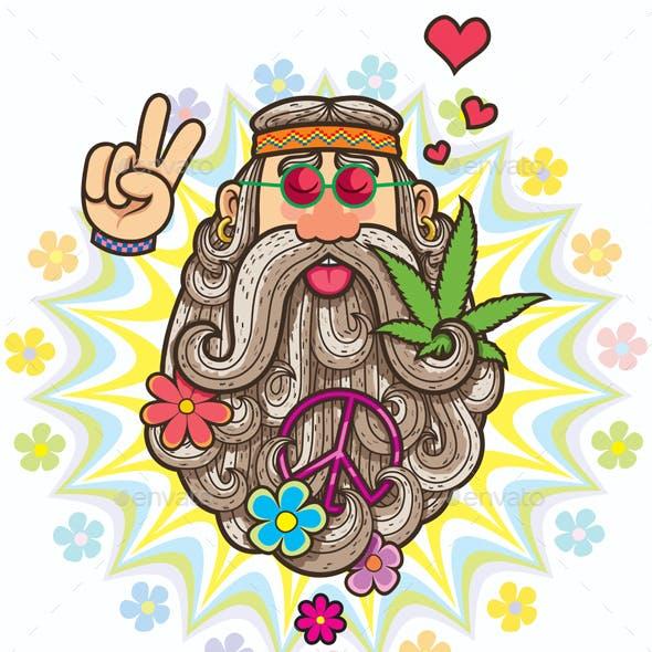 Hippie Symbol Vectors from GraphicRiver