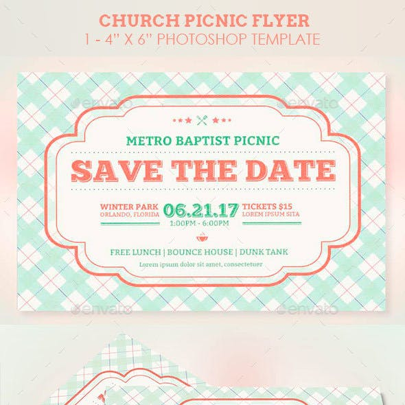 bbq flyers christian and vintage church flyer template