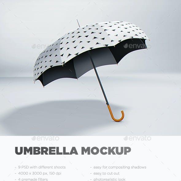 Golf Umbrella Graphics Designs Template From GraphicRiver
