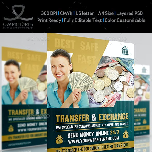 money flyer graphics designs templates from graphicriver