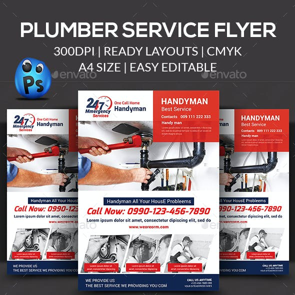 plumber handyman graphics designs templates