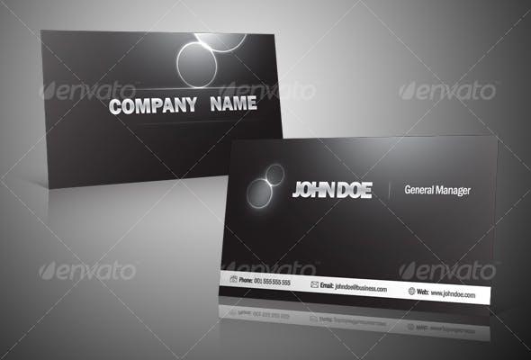 Black And Silver Business Card By Victorsosea Graphicriver