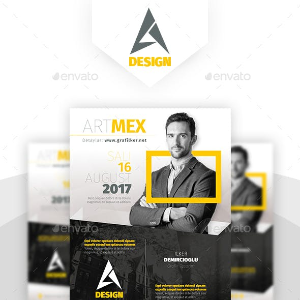 seminar flyer graphics designs templates from graphicriver