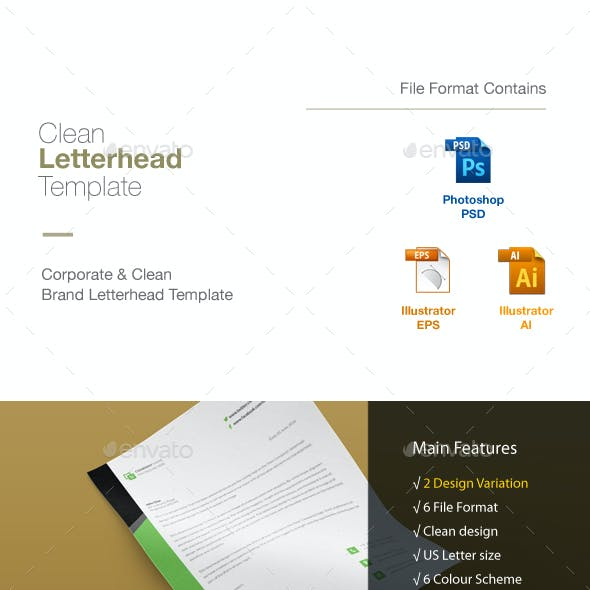letterhead and stationery design templates from graphicriver page 36